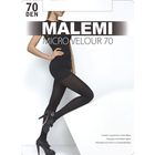 Колготки женские MALEMI Micro Velour 70 den, цвет загар (daino), размер 3