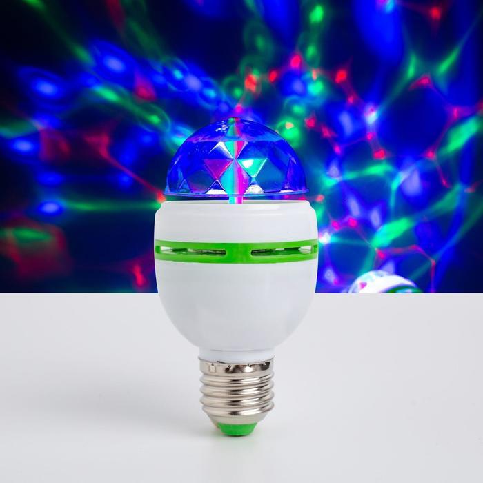 Лампа хрустальный шар диаметр 5,5 см., 220V, цоколь Е27, БЕЛЫЙ