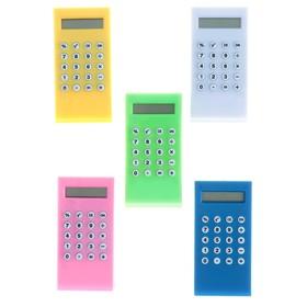 Калькулятор-зажим, 8-разрядный, МИКС Ош