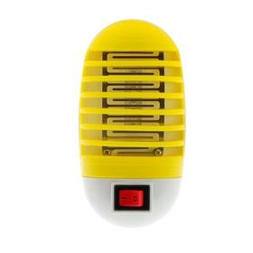 Уничтожитель насекомых электрический LuazON LUNIG-13, УФ-светодиоды, 220 В, микс Ош