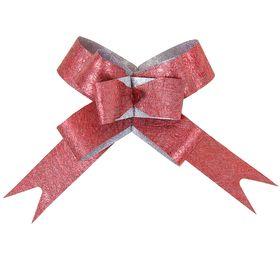 Бант-бабочка № 1,2 'Фактура', цвет бордовый Ош