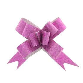 Бант-бабочка № 1,2 'Фактура', цвет малиновый Ош
