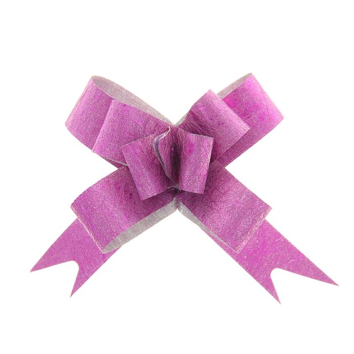 Бант-бабочка 1,2 Фактура, цвет малиновый