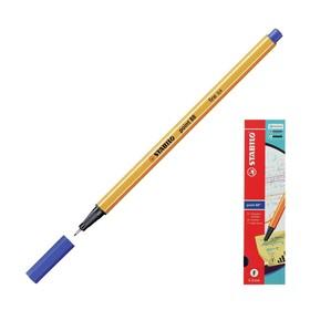 Ручка капиллярная Stabilo point 88, 0.4 мм, чернила синие 88/41 Ош