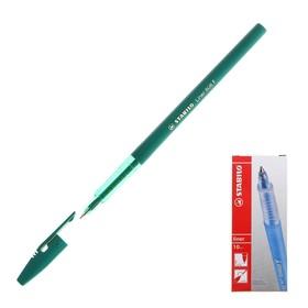 Ручка шариковая Stabilo Liner 808 0.5 мм стержень зелёный