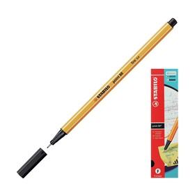 Ручка капиллярная Stabilo point 88, 0.4 мм, чернила чёрные 88/46