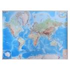 Карта Мира обзорная, 190 x 140 см, 1:15 млн, в картонном тубусе