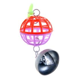 Игрушка для птиц шарик с колокольчиком Ош