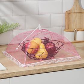 Сетка для продуктов защитная 35х35 см 'Квадрат', цвет МИКС Ош