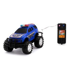 Машина «Полиция», на дистанционном управлении, цвета МИКС Ош