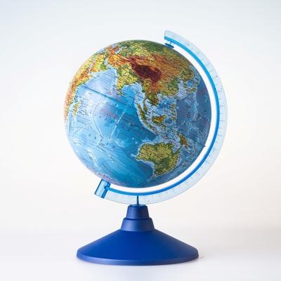 Глoбус физический «Классик Евро», диаметр 210 мм