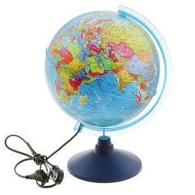 Глoбус политический «Классик Евро», диаметр 250 мм, с подсветкой Ош