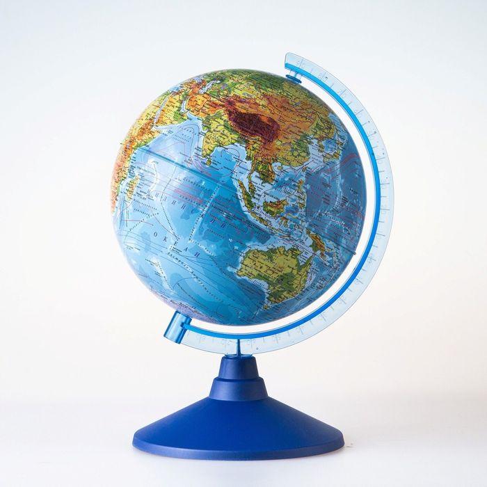 Глoбус физический Классик Евро, диаметр 150 мм