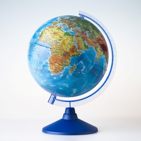 Глoбус физический «Классик Евро», диаметр 250 мм Ош