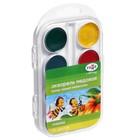 Акварель медовая 16 цветов, «Гамма» «Пчёлка», в пластиковой коробке, без кисти