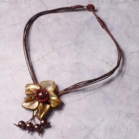 Колье 'Золотой цветок' Ош