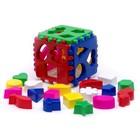Кубик логический, большой, МИКС