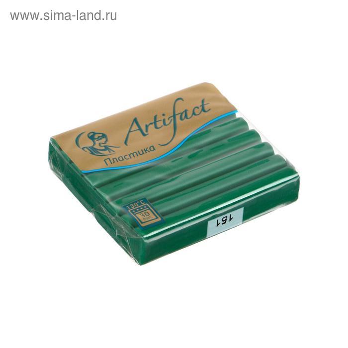 Пластика - полимерная глина 56г классический Изумрудный зеленый