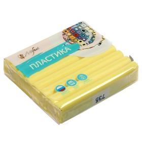 Пластика - полимерная глина 56г перламутр Желтый