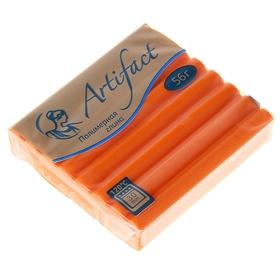 Пластика - полимерная глина 56г классический Оранжевый Ош
