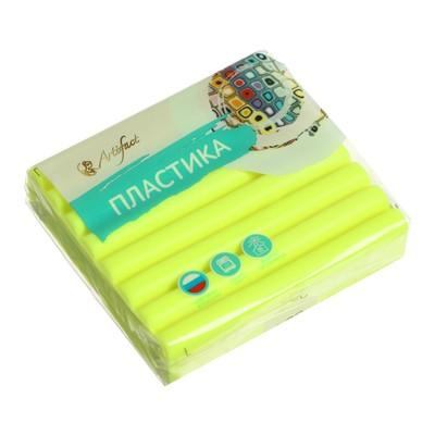 Пластика - полимерная глина 56г флуоресцентный Лимонный - Фото 1