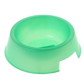 Миска 'Для любимца', 0,4 л, зелёная Ош