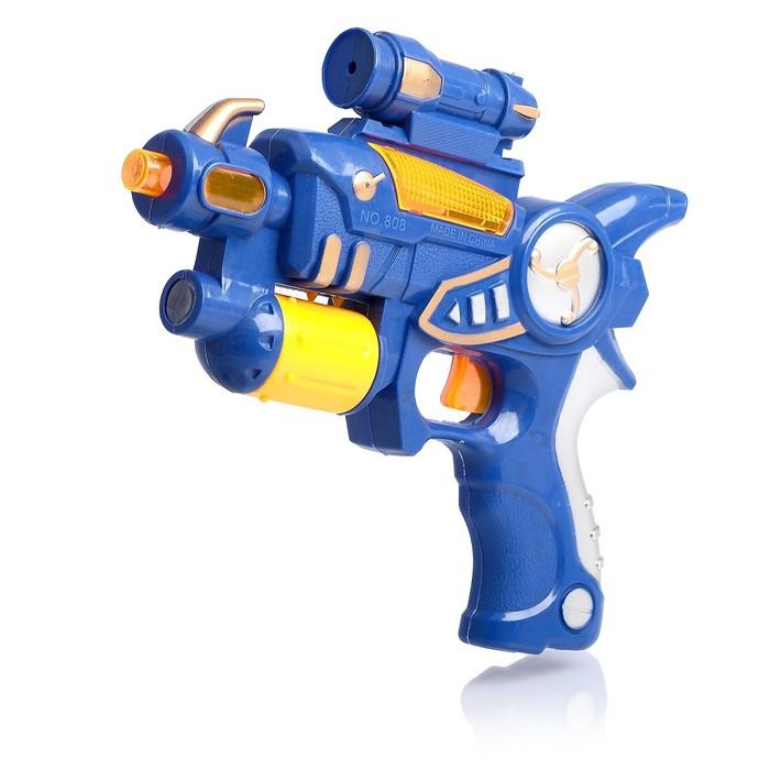 """Пистолет """"Бластер"""", световые и звуковые эффекты, цвета МИКС"""