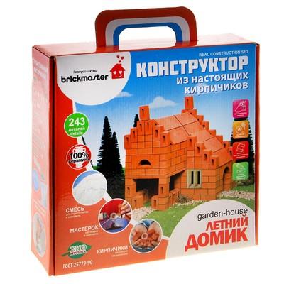 Конструктор керамический «Летний домик», 243 детали - Фото 1