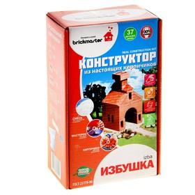 Конструктор керамический для детского творчества «Изба», 37 деталей Ош
