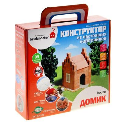 Конструктор керамический для детского творчества «Домик», 99 деталей - Фото 1