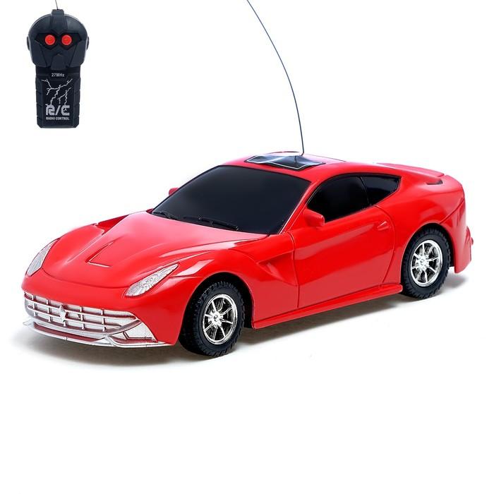 """Машина радиоуправляемая """"Спорткар"""", работает от батареек, МИКС"""