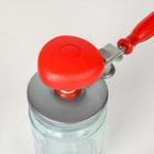 Закаточная машинка, винтовая, цвет красный - Фото 3