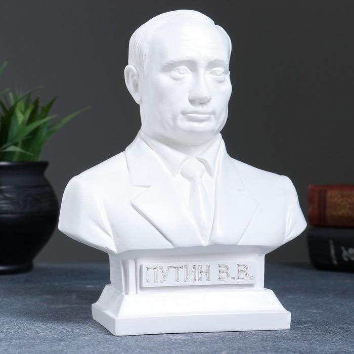 Бюст Путин белый 19см