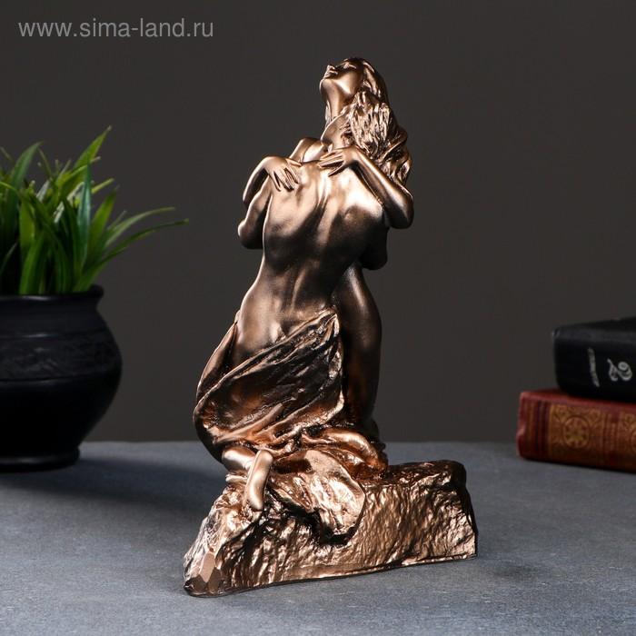 "Фигура ""Свидание"" бронза,золото 18х12х22см"