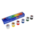 Гуашь художественная Спектр «Палитра», набор, 6 цветов, 40 мл