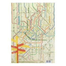 Декупажная карта 'Путешествие', 21 х 29,7 см Ош