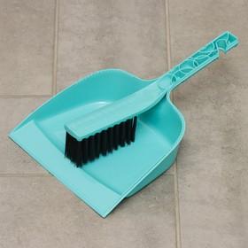Набор для уборки Svip «Практик»: щетка-сметка с совком, цвет МИКС