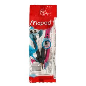 Циркуль универсальный, держатель «козья ножка», Maped Essentials пластиковый, 120 мм, в блистере Ош