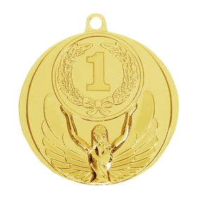Медаль призовая, 1 место, золото, d=4,5 см Ош
