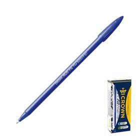 Ручка капиллярная Crown СМР-5000 синяя , пластиковый пишущий узел