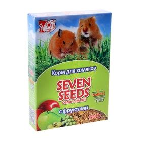 Корм для хомяков Seven Seeds с фруктами, 500 г