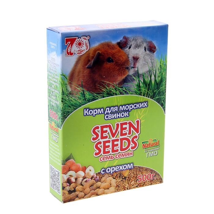 Корм для морских свинок Seven Seeds с орехами, 500 гр
