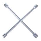 Ключ баллонный крестообразный TUNDRA, 16 х 350 мм, сатин, 17х19х21х23 мм