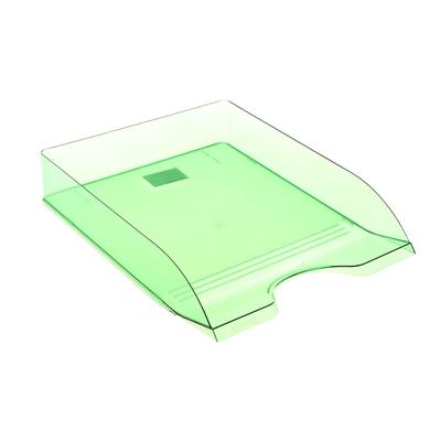 Лоток для бумаг горизонтальный «Дельта», зелёный