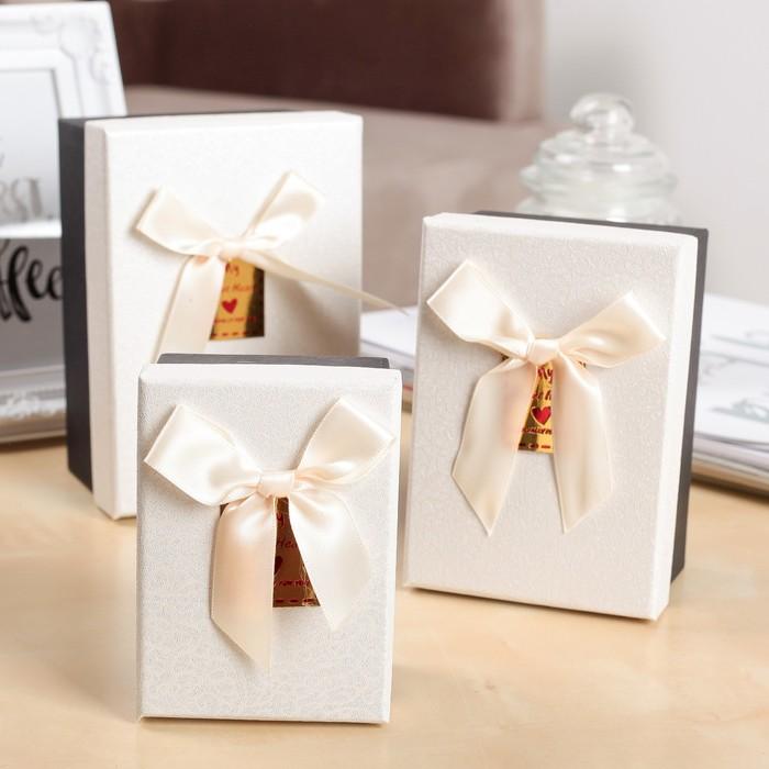 Набор коробок 3 в 1 Искушение, 15,5 х 10,5 х 8 - 11 х 8 х 5,5 см