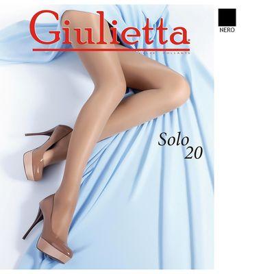 Колготки женские Giulietta SOLO 20 den, цвет чёрный (nero), размер 3