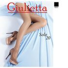 Колготки женские Giulietta SOLO 20 den, цвет чёрный (nero), размер 2