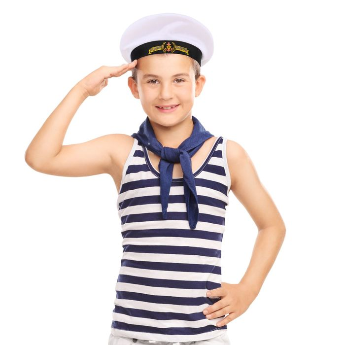Бескозырка детская «Будущий капитан», р-р. 52