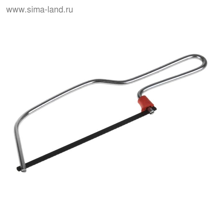 Ножовка по металлу TUNDRA, никелированная 150 мм