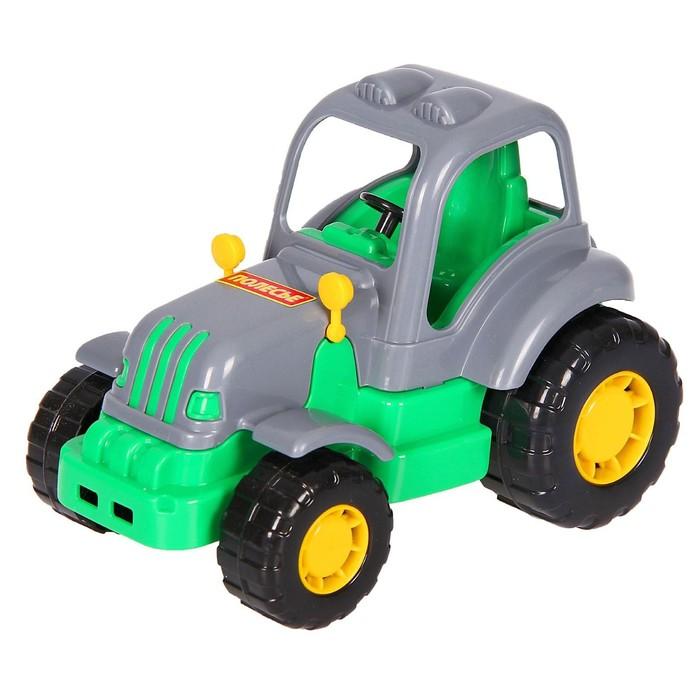 купить Трактор Крепыш, цвета МИКС